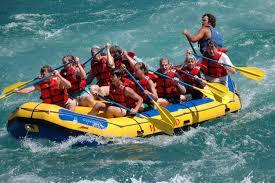 The crew, at Flathead Raft Company ...
