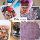How to Make Paper   TinkerLab