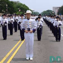 Marching band leader.