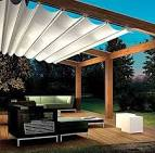Custom Retractable Awning | Backyard pergola, Canopy outdoor ...