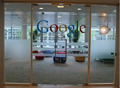 at the Google Head office
