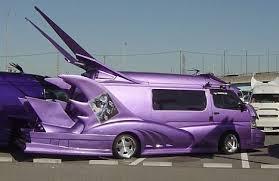 Extreme Japanese custom vans