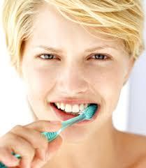 I definitely brush my teeth