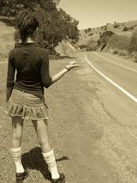 hitchhiking As gas prices go