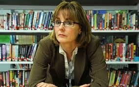 Head teacher Caroline Haynes.
