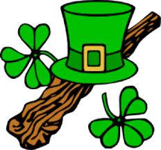 loves Ireland. Shamrock is