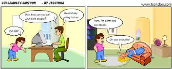 Guacamole's Cartoon