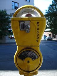 The old parking meter hasn't changed ...