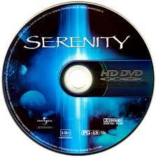 The actual HD-DVD disc.