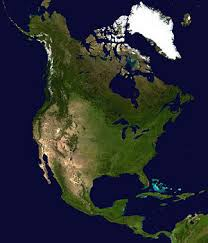 North America and South America are ...