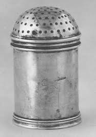 Pepper pot, 1701-1703