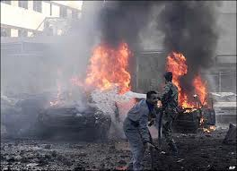 killed in a bomb attack in