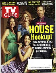 Tv Guide Cover - House M.D.