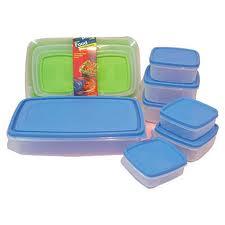 Plastic Storage Box Set