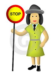Lollipop Lady Stock