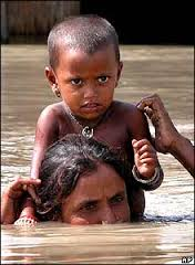 Flood victim Monowara Khatun