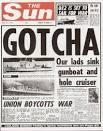THE HEADLINES: GOTCHA/Our lads