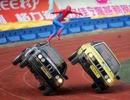 stunts between two