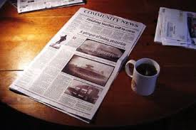loses its daily newspaper