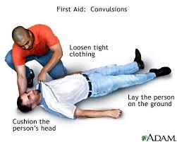 Convulsions - first aid - series
