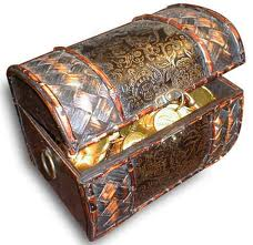 treasure chest full