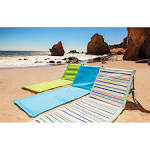 Beachcomber beach mat - Cornflower Blue by Picnic Time | Beach ...