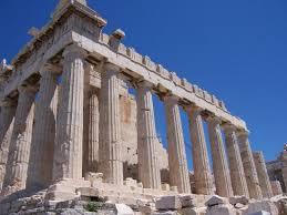 Parthenon remains, Athens