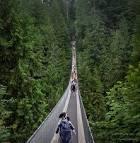Narrow Suspension Bridge and Cinque Terre Trail   The World Is a ...