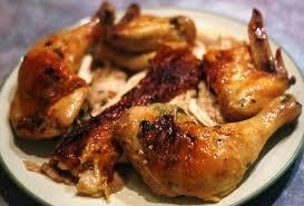 Herb Butter Roast Chicken