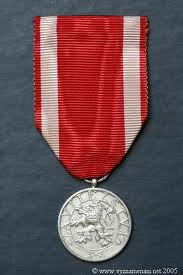 Silver Medal of the Czechoslovakian ...