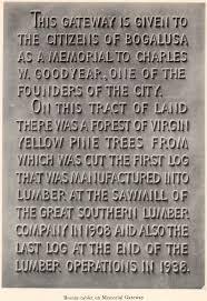 Bronze tablet - Memorial