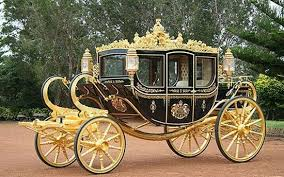 The £620000 carriage is a gift