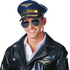 Airplane Pilot Hat - Costumes