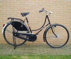 The Dutch typically ride
