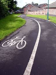 ST6677 : Cycle Path in Vinny Green