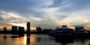 Evening Sunlight-Geylang River