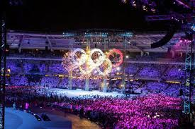 by the opening ceremony of
