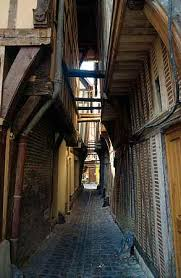 One of Troyes narrow streets