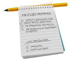 Fix-it List: Tech Policy