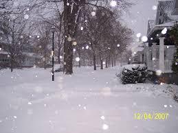 It's still snowing... it