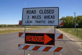 Picture of Road Closed Detour