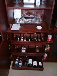 out this mini-bar at Le