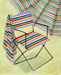 """""""Rose Lawn Chair"""" 10"""" x 12"""""""