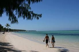 Photo: Walking on the beach
