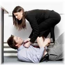 assertive woman aggression