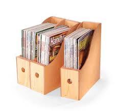 Magazine Storage Bins