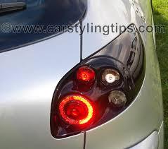 Jetblack surround rear light