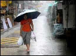 the rainy season hits the wet