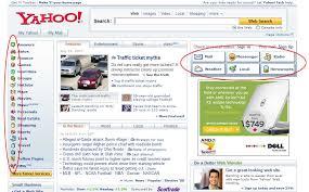 Figure 3: Yahoo.com Home Page