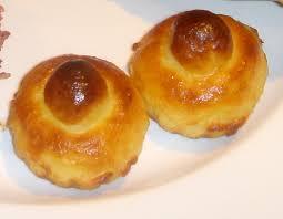 The potato brioches may be